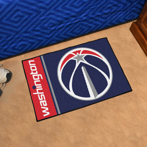 NBA Washington Wizards Uniform Inspired STARTER Rug - Bed, Bath, And My Team