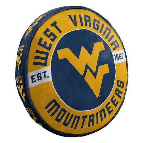 NCAA West Virginia Mountaineers Cloud Travel Pillow - Bed, Bath, And My Team
