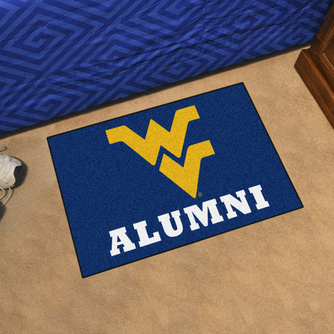NCAA West Virginia Mountaineers ALUMNI Starter Rug - Bed, Bath, And My Team