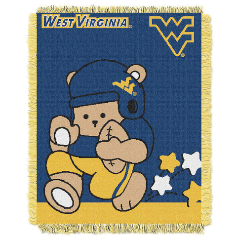 NCAA West Virginia Mountaineers Baby Blanket - Bed, Bath, And My Team