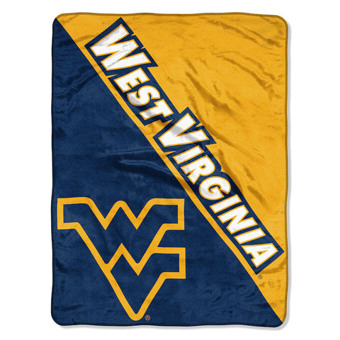 NCAA West Virginia Mountaineers Micro Raschel Throw - Bed, Bath, And My Team