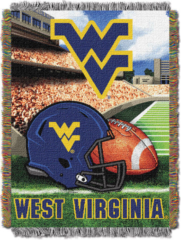 NCAA West Virginia Mountaineers HOME FIELD ADVANTAGE Tapestry - Bed, Bath, And My Team