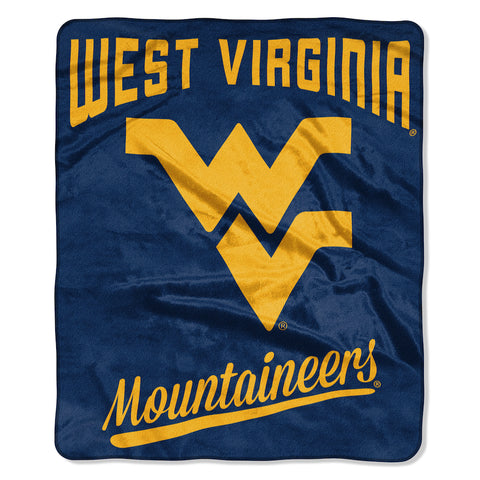 NCAA West Virginia Mountaineers 50 x 60 Alumni Raschel Throw Blanket - Bed, Bath, And My Team