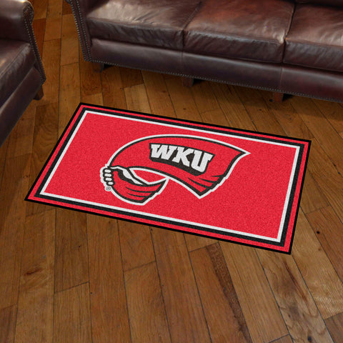 NCAA Western Kentucky Hilltoppers 3 X 5 Ft. Plush Area Rug - Bed, Bath, And My Team