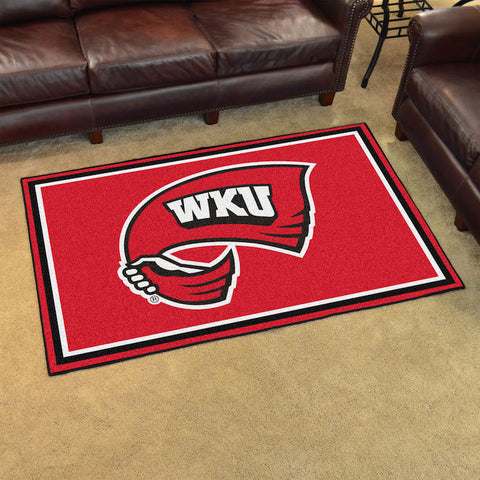 NCAA Western Kentucky Hilltoppers 4 X 6 Ft. Area Rug - Bed, Bath, And My Team