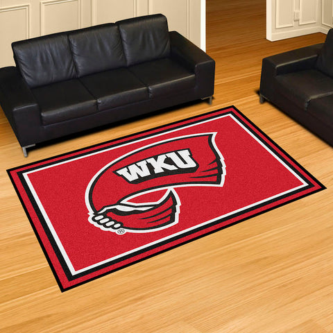 NCAA Western Kentucky Hilltoppers 5 X 8 Ft. Area Rug - Bed, Bath, And My Team