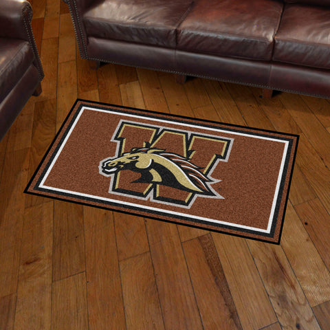 NCAA Western Michigan Broncos 3 X 5 Ft. Plush Area Rug - Bed, Bath, And My Team