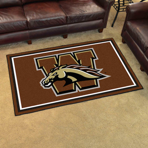 NCAA Western Michigan Broncos 4 X 6 Ft. Area Rug - Bed, Bath, And My Team