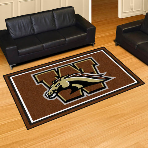 NCAA Western Michigan Broncos 5 X 8 Ft. Area Rug - Bed, Bath, And My Team