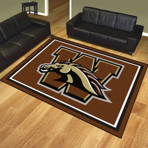 NCAA Western Michigan Broncos 8 X 10 Ft. Area Rug - Bed, Bath, And My Team
