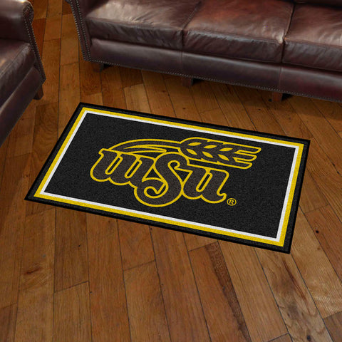 NCAA Wichita State Shockers 3 X 5 Ft. Plush Area Rug - Bed, Bath, And My Team