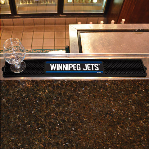 NHL Winnipeg Jets Bar and Drink Mat - Bed, Bath, And My Team