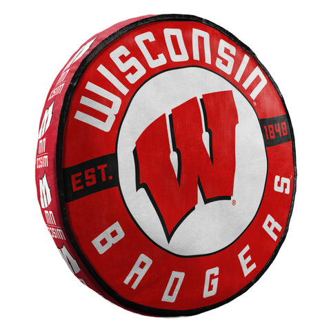 NCAA Wisconsin Badgers Cloud Travel Pillow - Bed, Bath, And My Team
