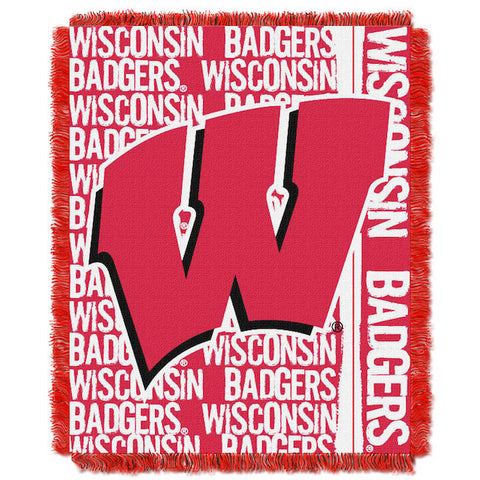Wisconsin Badgers Woven Tapestry
