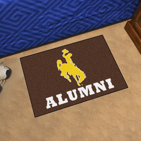 Wyoming Cowboys Alumni Rug