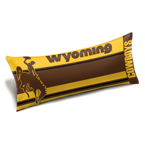 Wyoming Cowboys Body Pillow