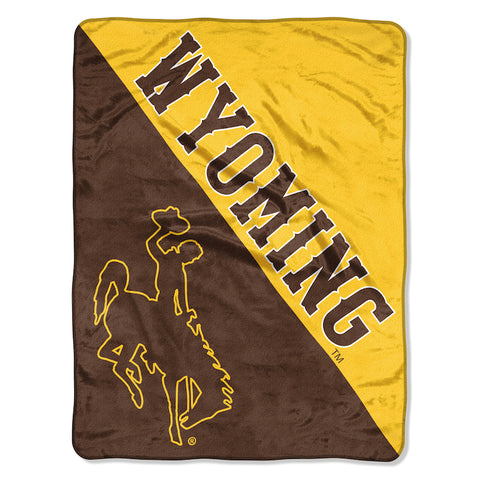 Wyoming Cowboys Micro Raschel Throw