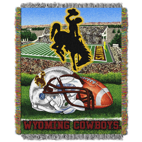 Wyoming Cowboys Home Field Advantage Tapestry