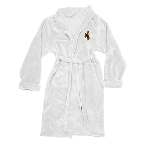 Wyoming Cowboys Bath Robe Mens