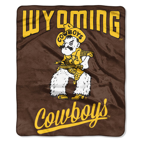 Wyoming Cowboys Alumni Blanket