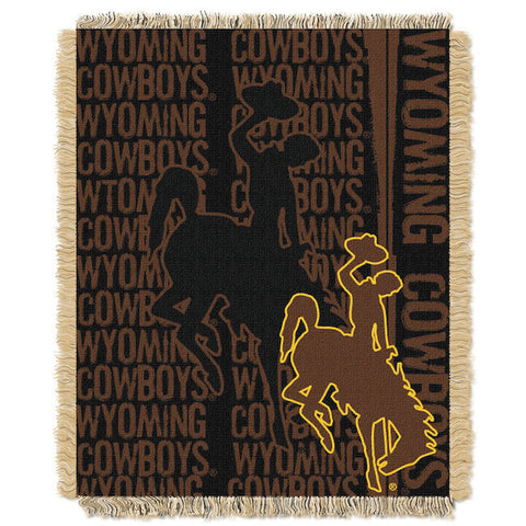 Wyoming Cowboys Woven Tapestry