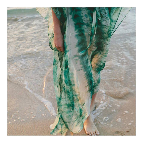 Eco friendly caftans and tunics inspired by the ocean, made on main street. Ethically sourced and locally made in Los Angeles.