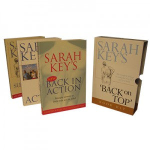 Sarah Key's Back on Top Book Kit.  Gift Pack of 3 Books