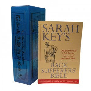 Sarah Key's Back Sufferer's Bible and Back Block