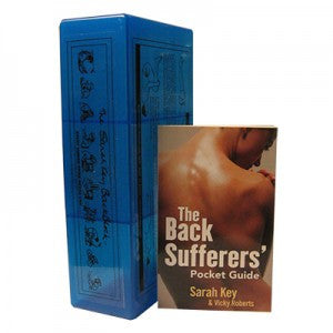 Back Sufferer's Pocket Guide and Back Block Package