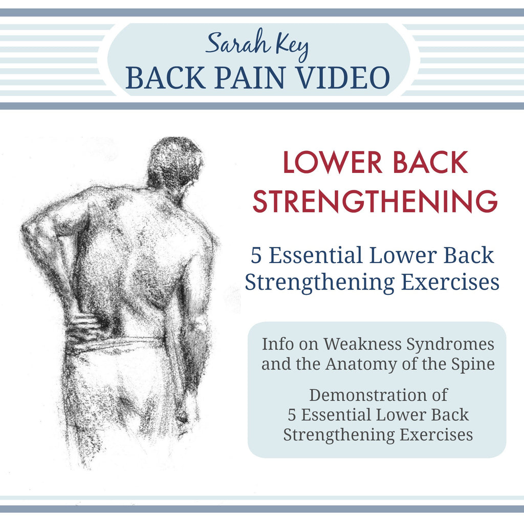 Graphic for Lower Back Strengthening Exercises