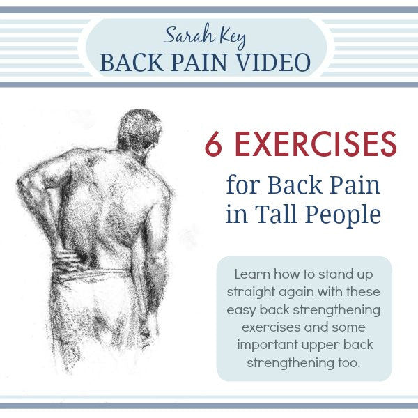 Graphic Exercises for Lower Back Pain in Tall People Video