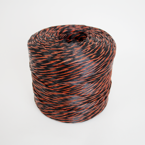 JSC Tree Rope (Black and Orange Poly) - Wholesale