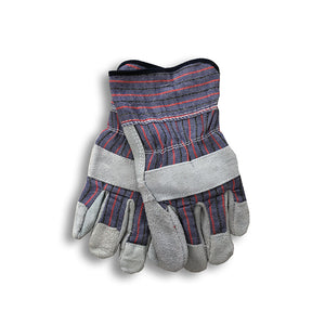 Leather Palm Work Gloves - Wholesale