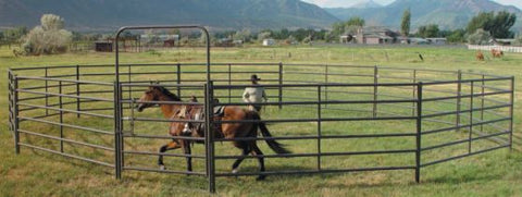 Powder Creek Round Pen