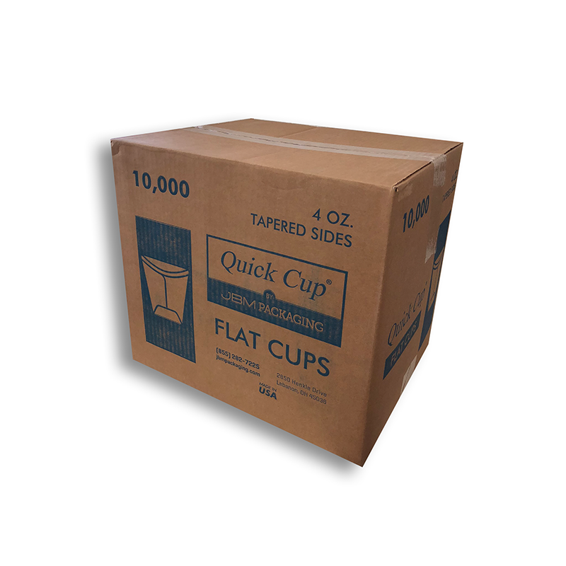 Flat Cups - Wholesale