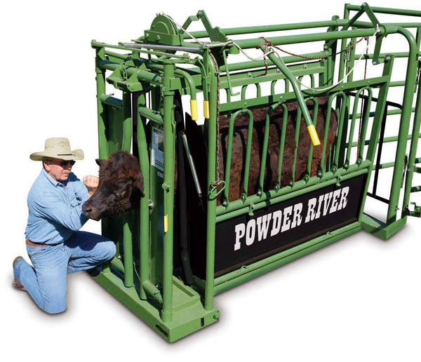 Powder River Stabilizer Squeeze Chute