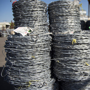 Barbed wire for fencing and agriculture