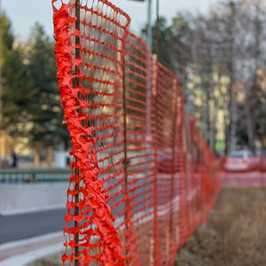 Orange Safety Fence - Wholesale