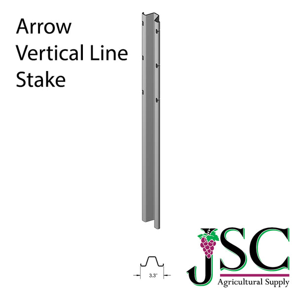 Arrow Vertical Line Stake