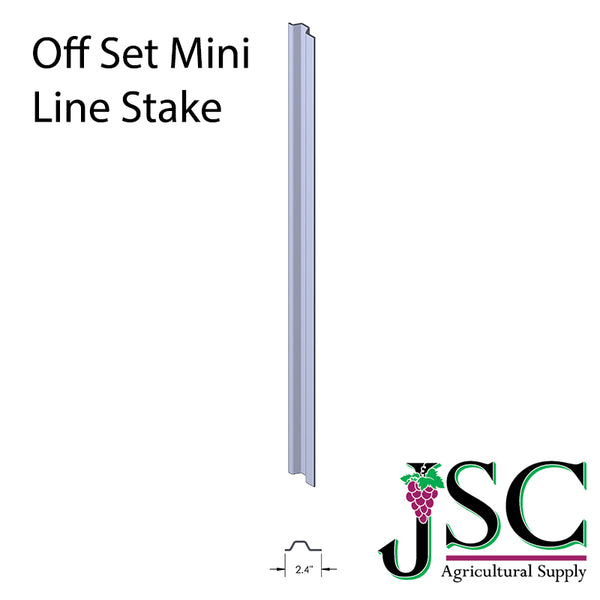 Off Set Mini Line Stake - Wholesale