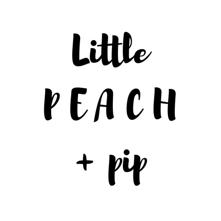 Little Peach and pip