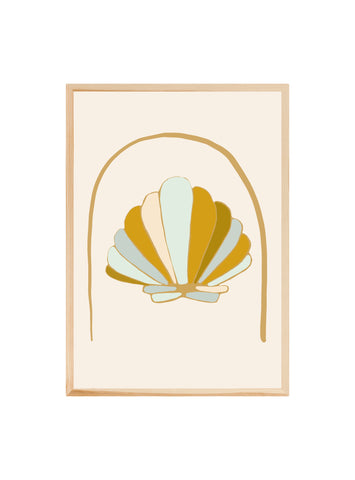 Retro Shell ~ Fine art print