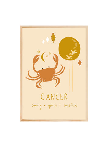 CANCER  ~ Fine art print
