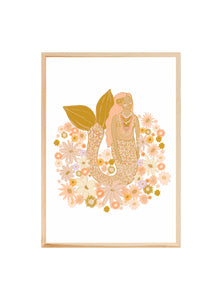 Spring Mermaid ~ Fine art print