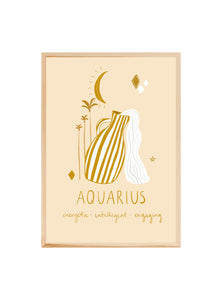 AQUARIUS ~ Fine art print