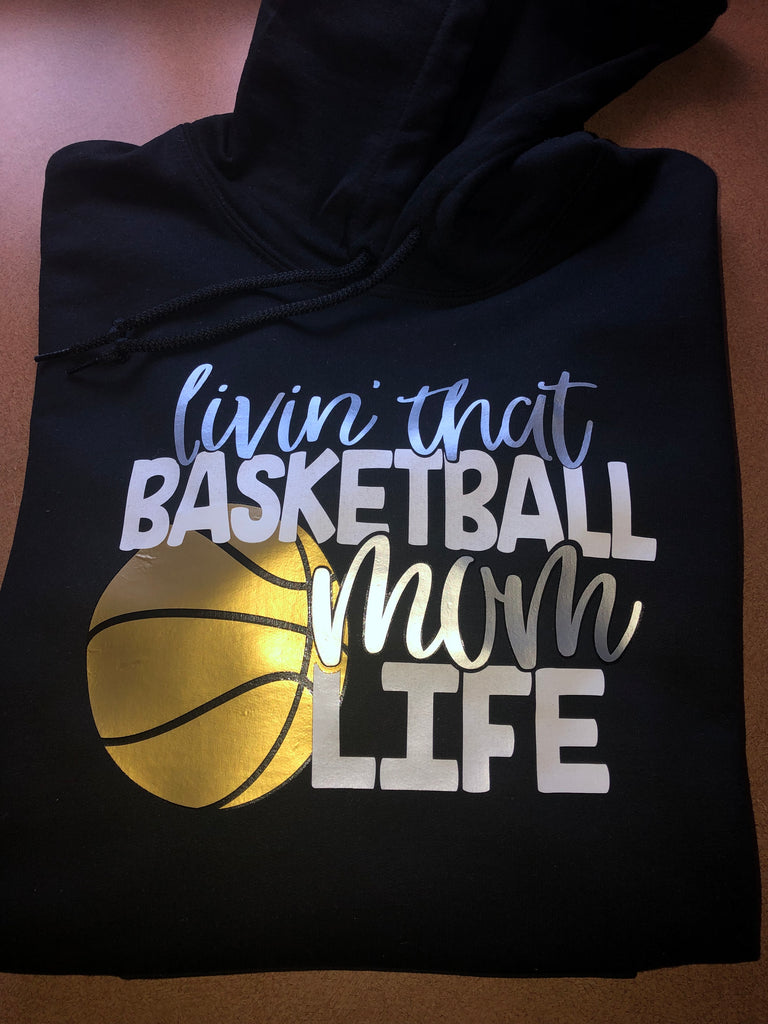 Basketball Mom Life Sweatshirt -  Eden's Garden