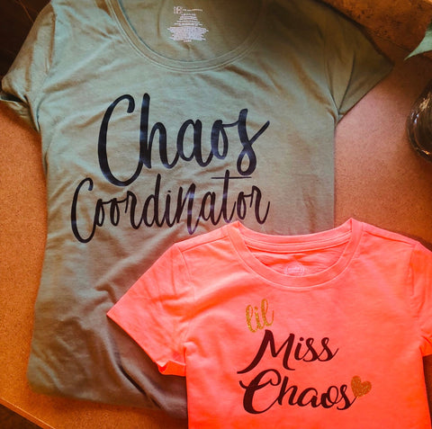 Mother-Daughter Chaos Shirts -  Eden's Garden