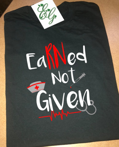 EarRNed Not Given (t-shirt) -  Eden's Garden
