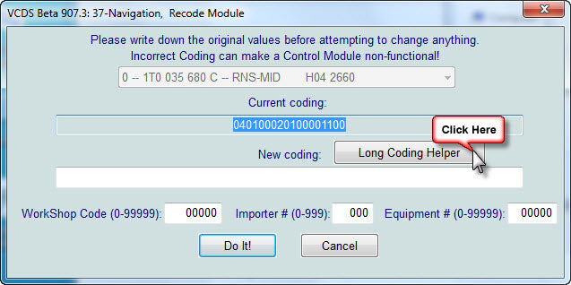 Coding your RNS510 via Vagcom – Eurozone Tuning