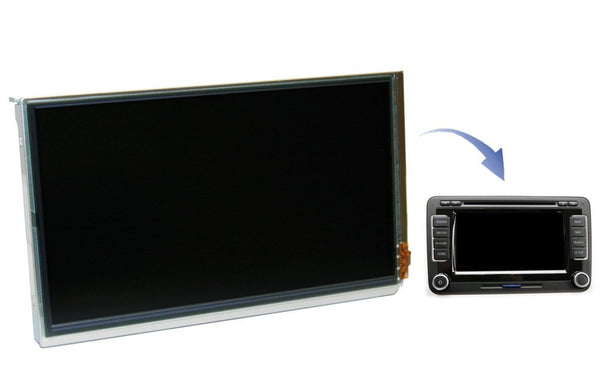 VW RNS510 OEM Sanyo LCD Scree for DIY Repair (New)